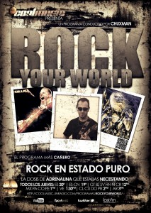 ROCK YOUR WORLD @ Estudios Centrales Jin Radio | Alcobendas | Comunidad de Madrid | España