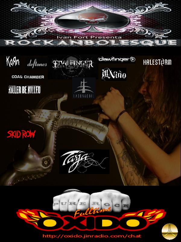 Promo 19 de marzo Rockanbolesque
