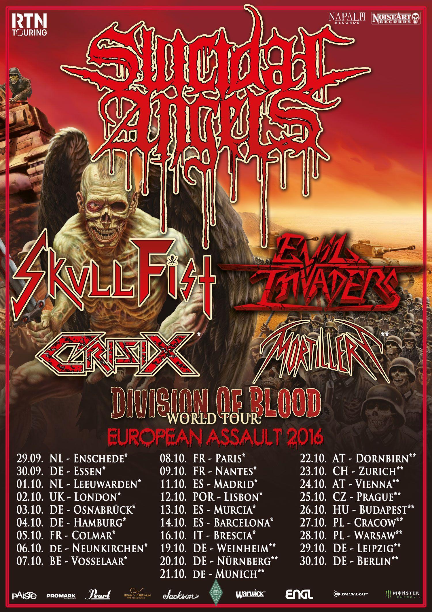 CRISIX TOUR